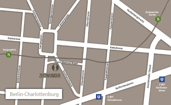 ZEITWUNDER Berlin-Charlottenburg