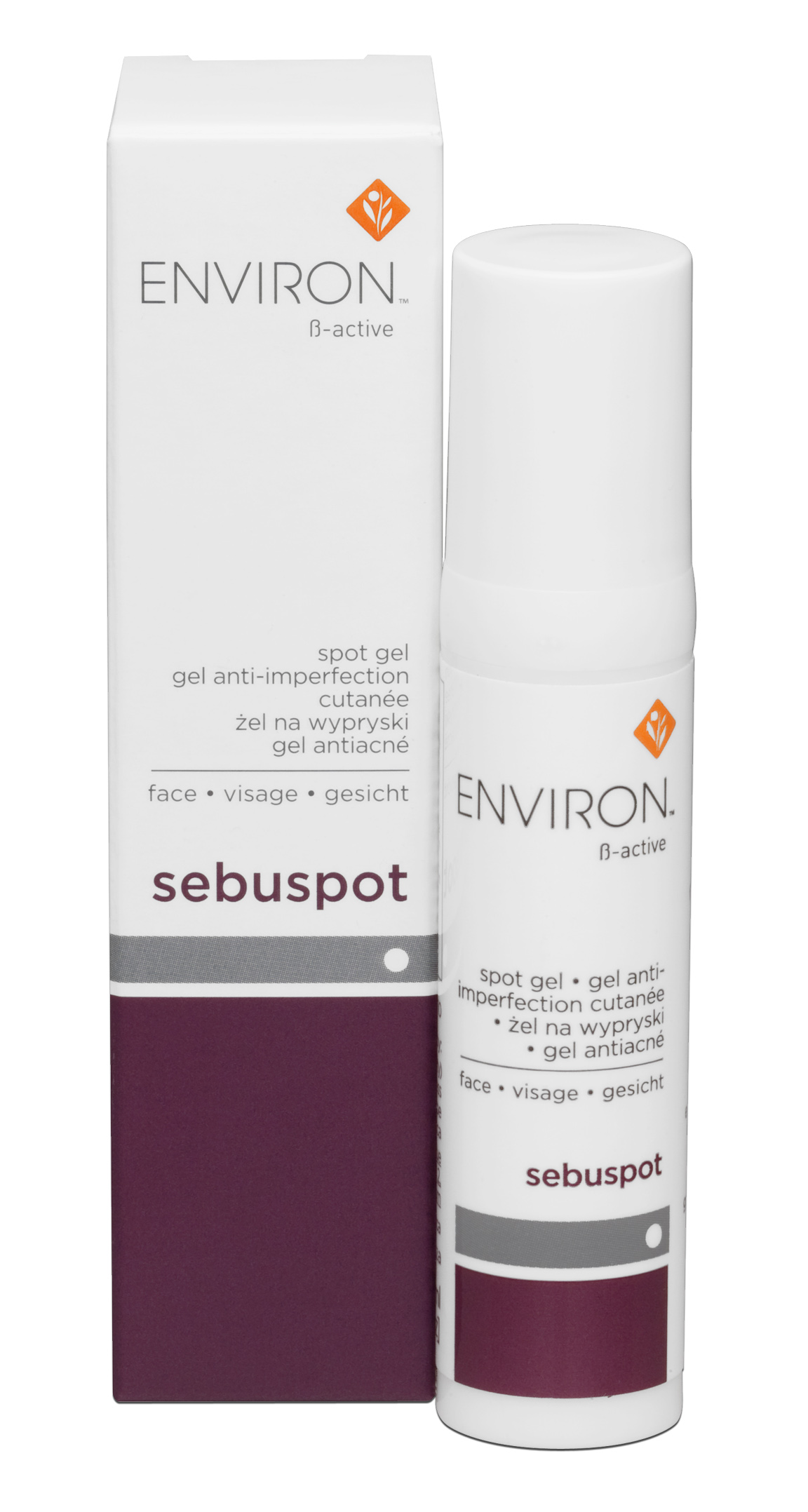 Environ sebuspot gel active system environ for Active salon supplies
